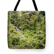 Costa Rica Zip Line View Tote Bag