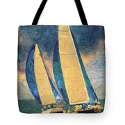Costa Smeralda Tote Bag by Taylan Apukovska