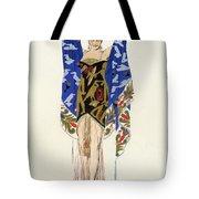 Costume Design For A Dancing Girl Tote Bag