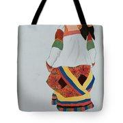 Costume Design For A Peasant Girl, 1922 Tote Bag