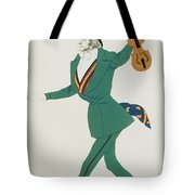 Costume Design For Paganini In The Enchanted Night Tote Bag