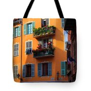 Cote D'azur Alley Tote Bag