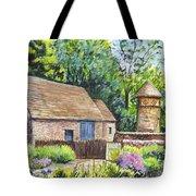 Cotswold Barn Tote Bag by Carol Wisniewski
