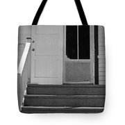 Cottage 5 Stair Steps Home Tote Bag