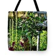 Cottage Bird Garden Tote Bag