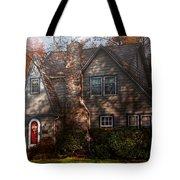 Cottage - Cranford Nj - Autumn Cottage  Tote Bag