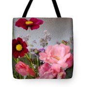 Cottage Garden Tote Bag by Tanya Jacobson-Smith
