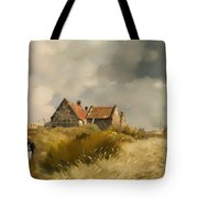Cottage In The Dunes Tote Bag