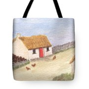 Cottage In The West Tote Bag