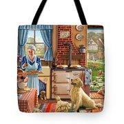 Cottage Interior Tote Bag