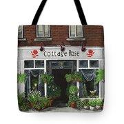Cottage Rose Tote Bag