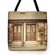 Cottage Townhouses In Lund Tote Bag