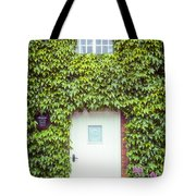 Cottage With Ivy Tote Bag