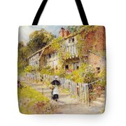 Cottages   A Row Of Cottages Tote Bag
