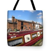 Cottages At Fradley Junction Tote Bag