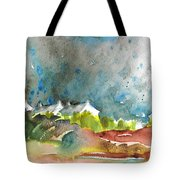 Cottages In Brittany Tote Bag