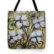 Cotton #2 - Cotton Bolls Tote Bag