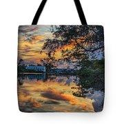 Cotton Bayou Sunrise Tote Bag