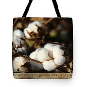 Cotton Bolls Ready For Harvest Tote Bag