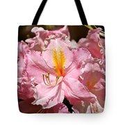 Cotton Candy Azalea Tote Bag
