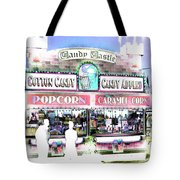 Cotton Candy Castle Tote Bag