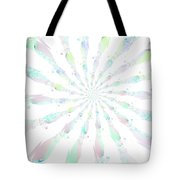 Cotton Candy V Tote Bag