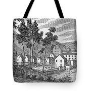 Cotton Factory Village, Glastenbury, From Connecticut Historical Collections, By John Warner Tote Bag