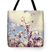 Cotton In The Sky With Filter Tote Bag