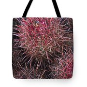 Cotton-top Cactus Detail Tote Bag