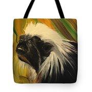 Cotton Top Tamarin Zack Half Of All Proceeds Go To Jungle Friends Primate Sanctuary Tote Bag