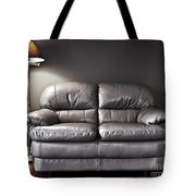 Couch And Lamp Tote Bag