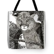 Cougar From Colorado Tote Bag