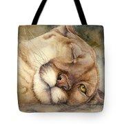 Cougar    I See You     Tote Bag