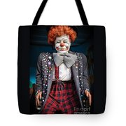 Coulrophobia Tote Bag
