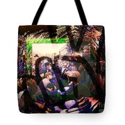Counterculture Of The 1960s Tote Bag by Elizabeth McTaggart