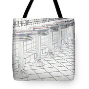 Counterseats-2 Tote Bag