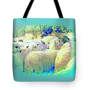 Counting The Sheep But Can't Sleep  Tote Bag