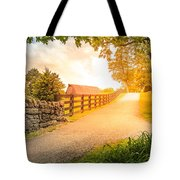 Country Alley Tote Bag