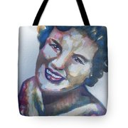 Country Artist Patsy Cline Tote Bag