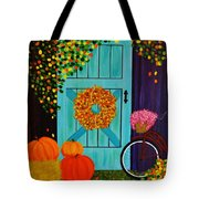 Country Autumn Tote Bag