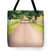 Country Back Roads Tote Bag