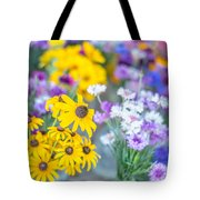 Country Blooms Tote Bag