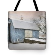 Country Blue Tote Bag