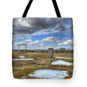 Country Cemetary Tote Bag