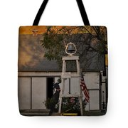 Country Charm - Old Dog Young Dog Several Stupid Dogs - Please Drive Slowly Tote Bag