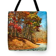 Country Curves And Vultures Paint Tote Bag