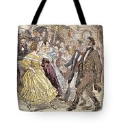 Country Dance, 1820s Tote Bag