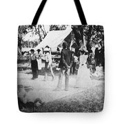 Country Dance, 19th Century Tote Bag