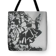 Country Dance Tote Bag by PainterArtist FIN