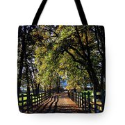Country Drive Tote Bag